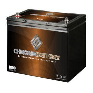 12V 80AH Replacement Battery UB12750 Group 24, Marine Sealed Lead Acid Battery
