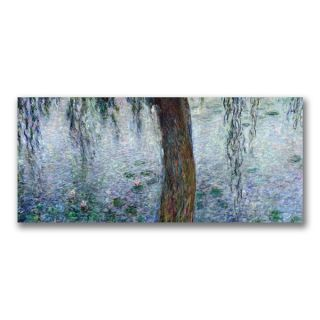 Claude Monet Waterlillies, Morning III Canvas Art