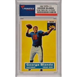 George Blanda Chicago Bears 1956 Topps #11 Card 1