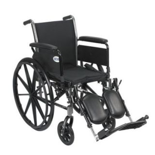 Drive Medical Cruiser III With Full Arms and Leg Rests 20""