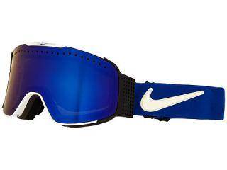 Dragon Alliance Fade X Nike White Game Royal/Dark Smoke Blue/Silver Ionized