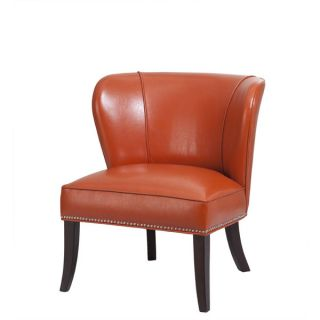 Madison Park Sheldon Concave Back Armless Chair   17879868