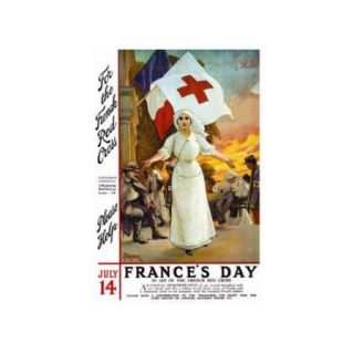 France's Day   Please Help Print (Unframed Paper Print 20x30)