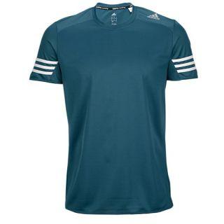 adidas Response Short Sleeve T Shirts   Mens   Running   Clothing   Shock Green/Mineral Green/Matte Silver
