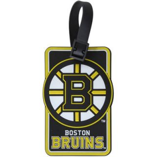 Boston Bruins Embossed Logo Rubber Luggage Tag