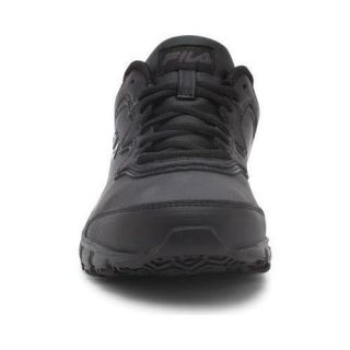 Womens Fila Memory Fresh Start SR Shoe Black/Black/Black   18327280