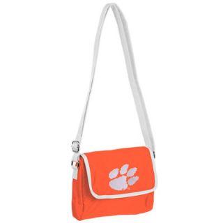 Clemson Tigers Womens Single Shoulder Handbag Purse