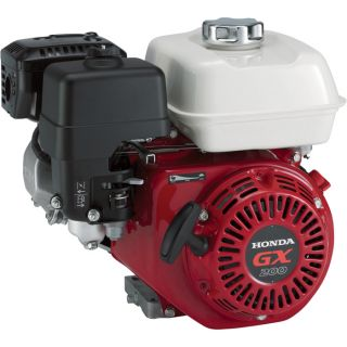 Honda Horizontal OHV Engine — 196cc, GX Series, 3/4in. Dia. x 2 7/16in.L Shaft, Model# GX200UT2QG2  121cc   240cc Honda Horizontal Engines