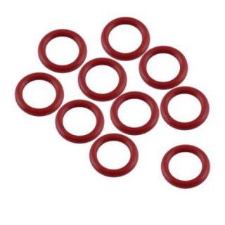 10pcs 15mm Outside Dia 2.5mm Thickness Industrial Rubber O Rings Seals