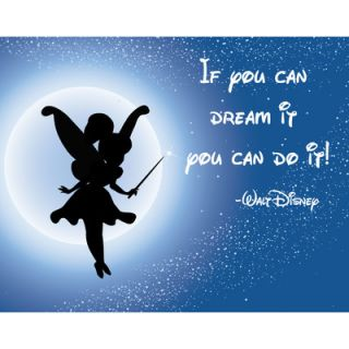 Secretly Designed If You Can Dream It You Can Do It Wall Art Print