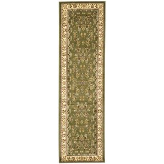 Safavieh Lyndhurst Ivory and Charcoal Rectangular Indoor Machine Made Runner (Common: 2 x 14; Actual: 27 in W x 168 in L x 0.42 ft Dia)