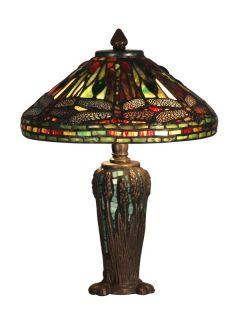 Dale Tiffany TT10333 Antique Bronze / Verde