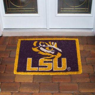 LSU Tigers 18 x 30 Coir Welcome Mat