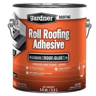 Gardner 3.6 Qt. Roll Roofing Adhesive 0361 GA
