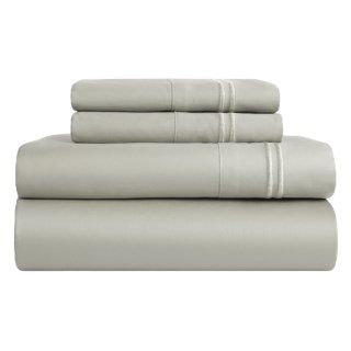 Melange Home Border Stripe Sheet Set   King, 600 TC 161KG 48
