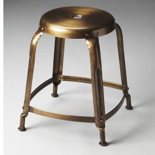 Butler 3124025 Industrial Chic Dutton Iron Stool in Bronze