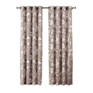 Bella Luna Maya Woven Blackout Teal Grommet Extra Wide Patio Door Curtain Panel   108 in. W x 84 in. L YMC004963