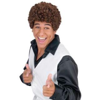 Jheri Curl Dark Brown Halloween Wig