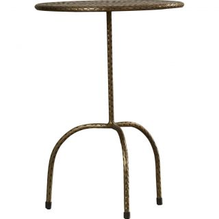 Industrial Chic Pedestal End Table by House of Hampton