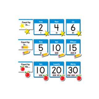 24 Piece Numbers Chart Set