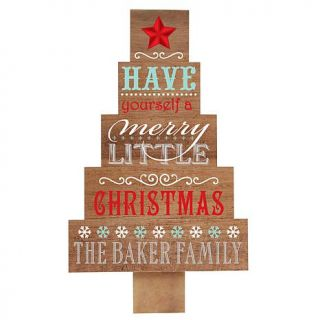 Personal Creations Personalized Have a Merry Christmas Wood Pallet Christmas Tr   8258538