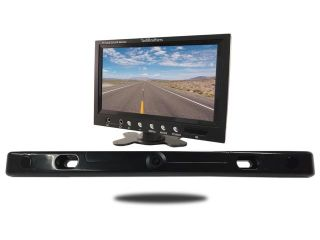 Tadibrothers 7 Inch Color Monitor with Parking Backup Sensor and License Camera Bar (TB B1)