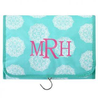 Personal Creations Personalized Hang It Up Cosmetic Bag   Monogram   Block   7768608