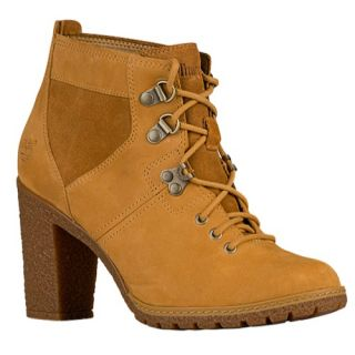 Timberland Glancy Field Boots   Womens   Casual   Shoes   Wheat Nubuck